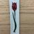 """Tulip Plaque in red - 7 1/8"""" X 1 1/2"""""""