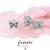 Butterfly Studs - CZ Studs - Tiny Earrings - Dainty Studs - Diamond Earrings