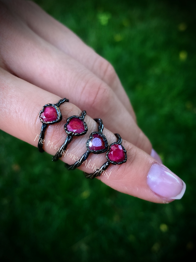 Ruby Heart Stackers