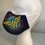 FACE MASK, Wonder Woman, 100% Cotton, 3-Layers, Handmade, Machine