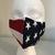FACE MASK, Flag, 100% Cotton, 3-Layers, Handmade, Machine Washable/Dryable,