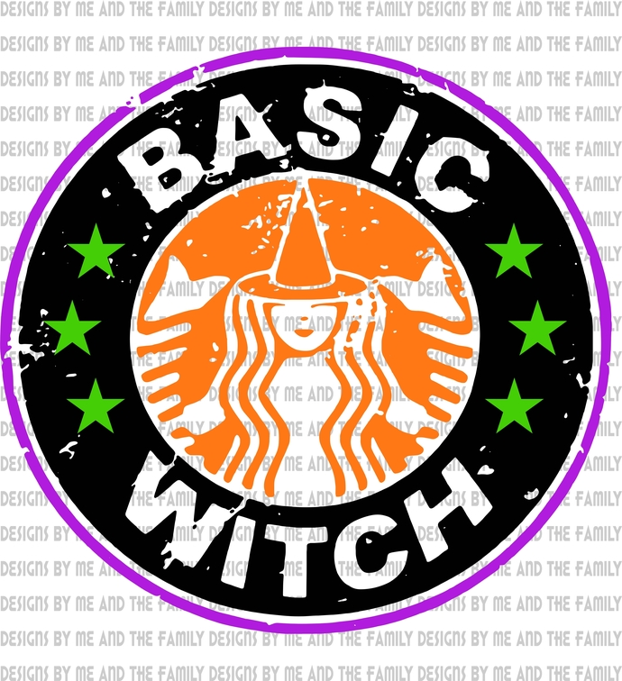 Basic witch, be a Maleficent, happy Halloween, The Sanderson Sisters, Black