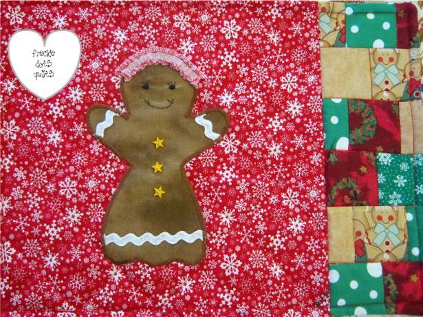 Gingerbread Family Place Mats