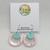 Acrylic Double Hoops - choose colour
