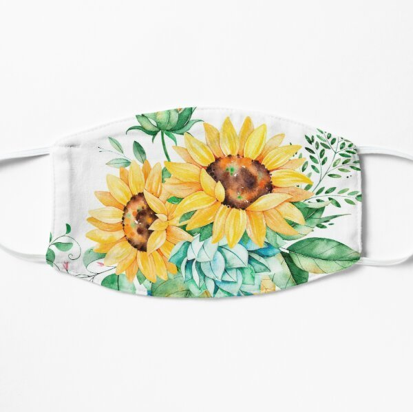 Sunnflower face mask washable adjusable, face mask, mask,face covering,sunflower