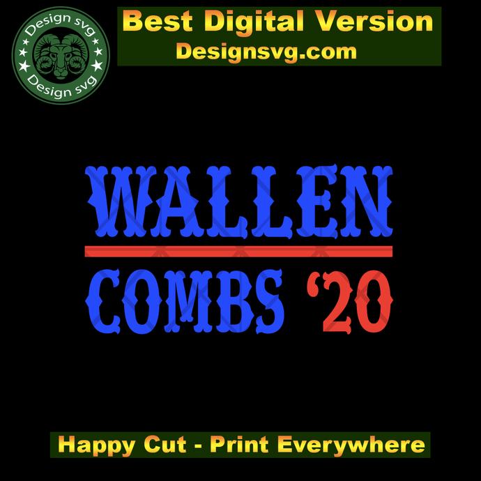 Wallen combs 20 svg,luke combs,beer koozie svg,country music svg,morgan wallen