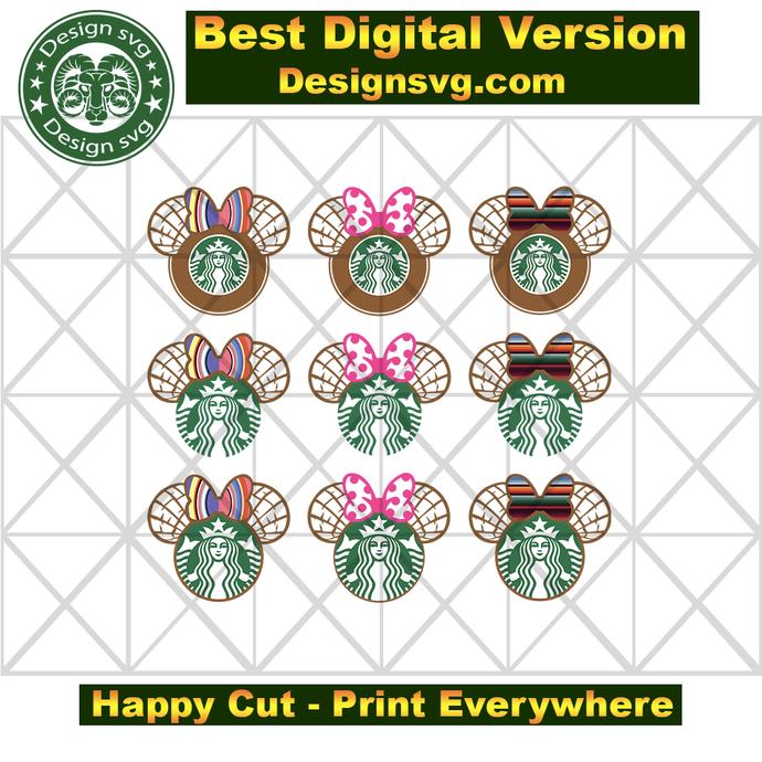 Starbucks svg bundle , fashion svg, nike svg, gucci svg, gucci print, vans svg,