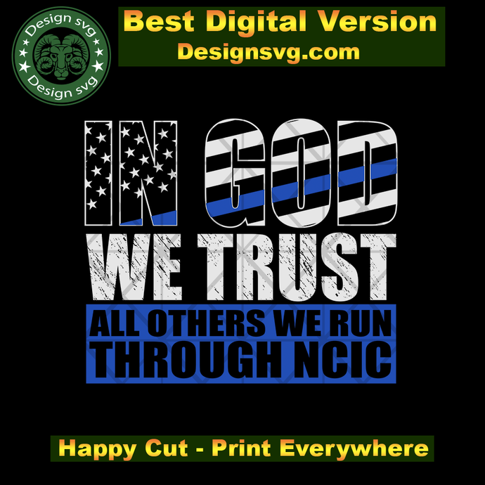 In god we trust all others we run svg,America USA professionals svg,special