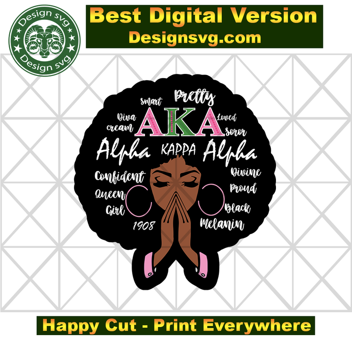 Pretty Aka svg,Mega Alpha kappa alpha sorority bundles svg, Aka Girl gang svg,