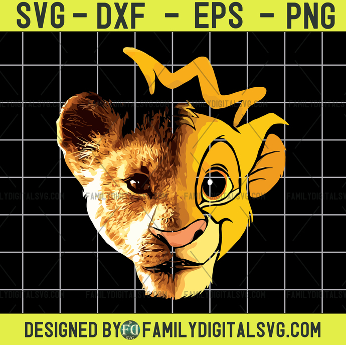 Lion King  Lion King Svg  Lion King Clipart  Lion King Shirt  Silhouette Svg