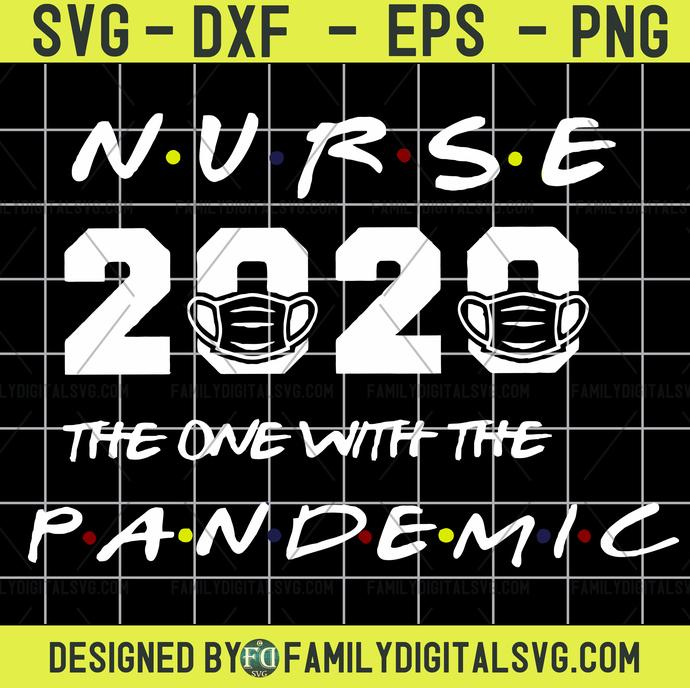 Nurse I'll Be There For You 2020 Quarantine Funny Registered Nursing Medical