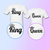 King And Queen Shirts - King Queen Shirts - Anniversary Gifts - Cute Shirts -