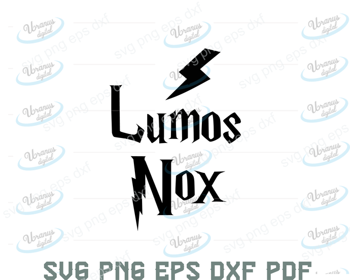 Lumos Nox svg,Harry potter svg, harry potter shirt, harry potter design, harry