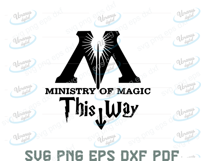 This way to the ministry of magic svg,harry potter decor,ministry of