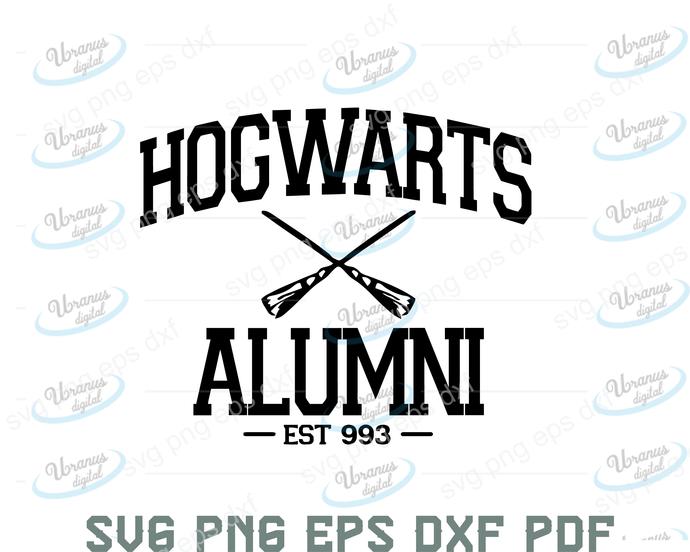 Hogwarts alumni svg,Harry potter svg, harry potter shirt, harry potter design,