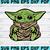Little Jedi Yoda,baby yoda, yoda svg, clip art, yoda, baby yoda cricut, baby