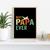 Papa Pilot, Vintage Style, Cool Pilot Gift, Flight Attendant, Gift Idea, Digital