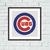 Chicago Cubs logo cross stitch
