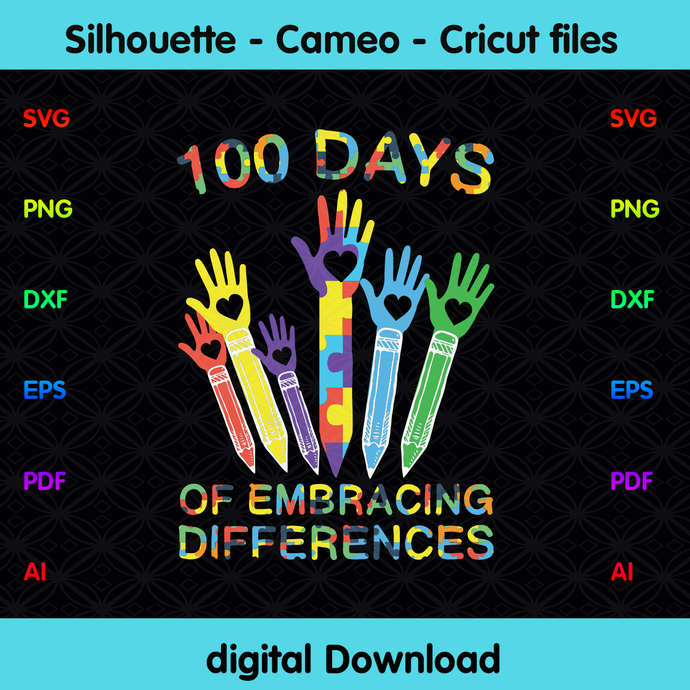 100 Days Of Embracing Differences Happy 100th Day Of By Zelda On