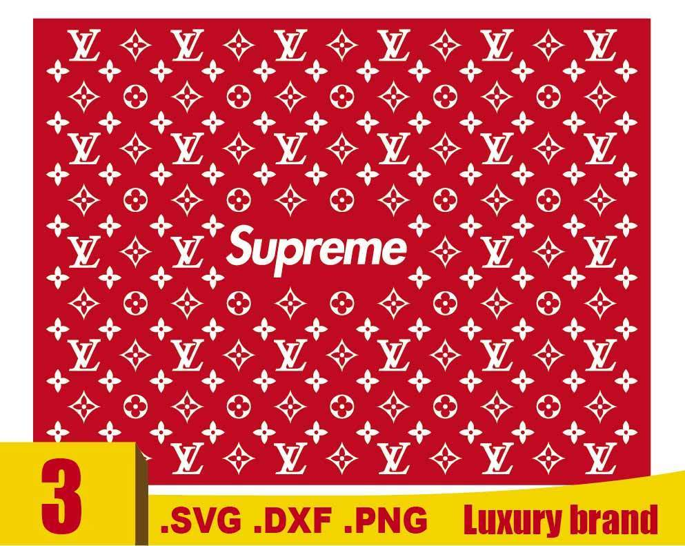 Luxury Brand Svg Lv Svg Louis Vuitton Pattern Fashion Brand Svg Louis Vuitton Supreme Svg Cricut File Silhouette Cameo A C Moore Marketplace