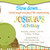 Turtle Themed Boy Birthday Invitation