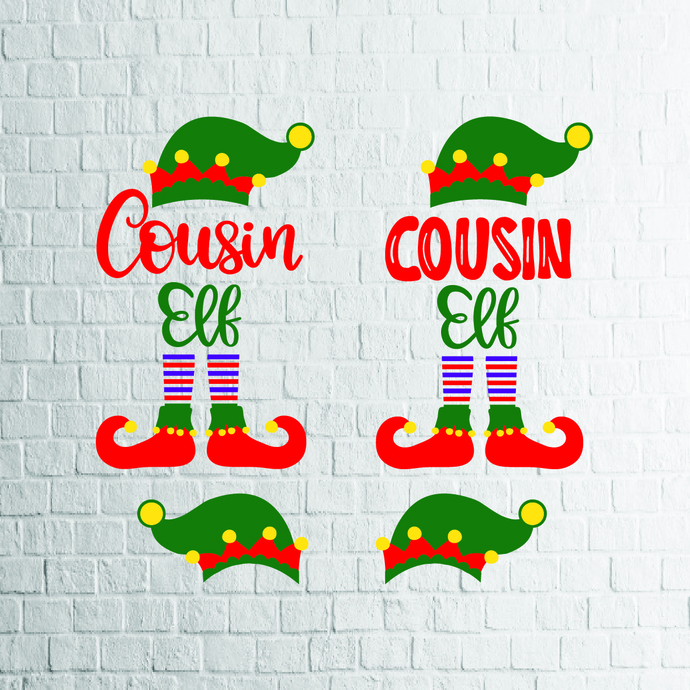 2 Styles Cousin Elf Svg Snowflake Svg By Ldstoresvg On Zibbet