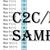 Minecraft Creeper -- MiniC2C Twin size, Graph + Color coded block written