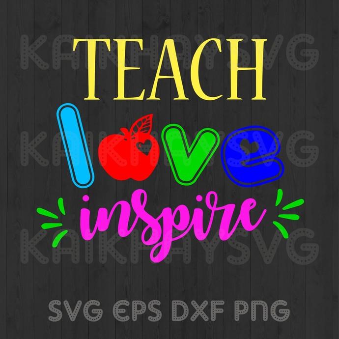 Teacher Love Svg Super Teacher Teacher By Kaikhaystore On Zibbet