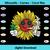 Sunflower cannabis weed leaf,sunflower svg, sunflower gift, weed svg, weed gift,
