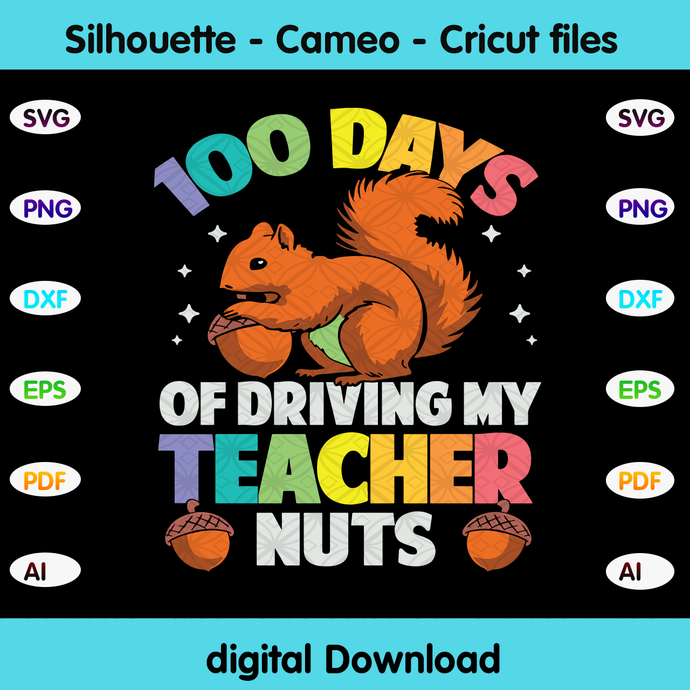 100 days of driving my teacher nuts, Happy 100th day of school,hello school,