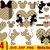 Gucci & Disney Inspired SVG, mickey mouse head, cricut file, cut file, print