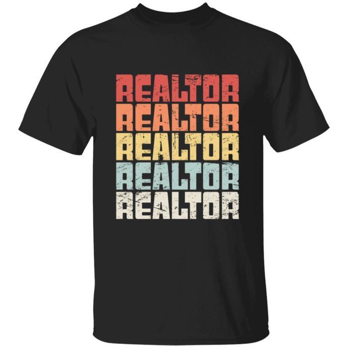 Retro 70s REALTOR Shirt, Realtor Gift TShirt