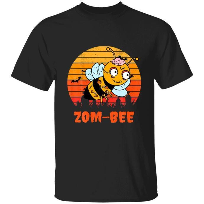 Funny Zombie Bee Bees Animal Halloween TShirt