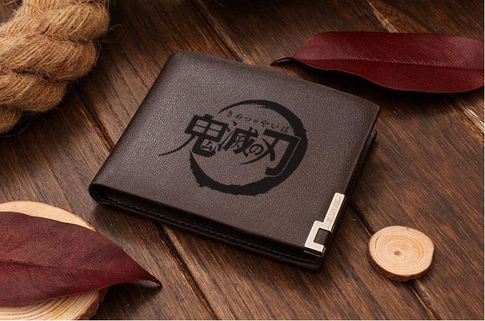 Kimetsu No Yaiba Leather Wallet