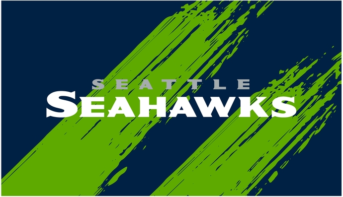 Seattle Seahawks v1, face mask design, full coverage sublimation, NFL, PNG