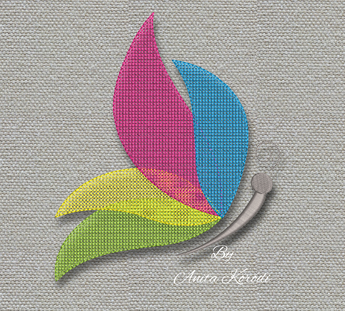 Butterfly Embroidery Machine Design digital instant download pattern hoop pes