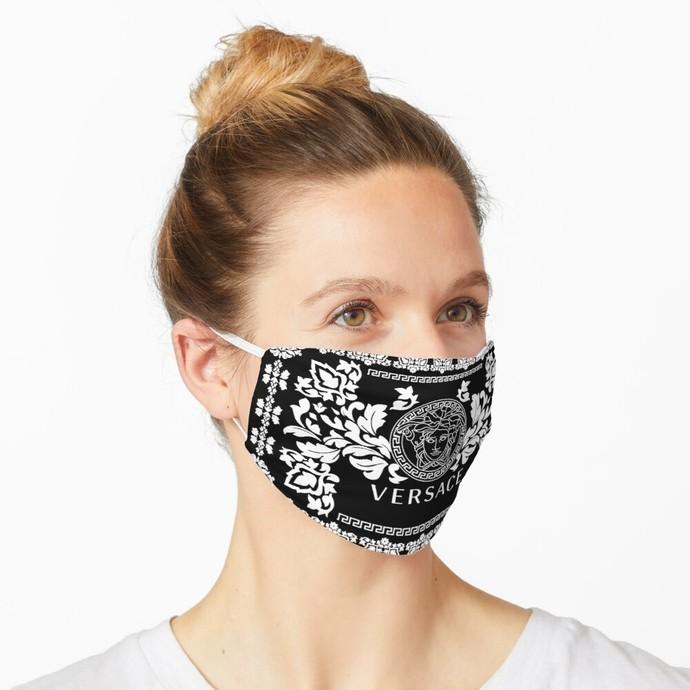 Versace, Versace 60, Versace logo, Versace Face Mask, Luxury Mask, Halloween