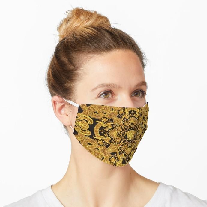 Versace, Versace 64, Versace logo, Versace Face Mask, Luxury Mask, Halloween