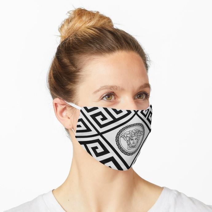 Versace, Versace 75, Versace logo, Versace Face Mask, Luxury Mask, Halloween