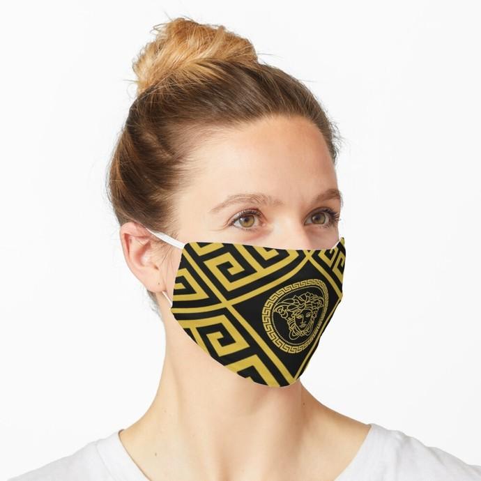 Versace, Versace 76, Versace logo, Versace Face Mask, Luxury Mask, Halloween