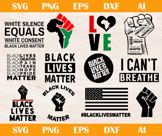 Copy of Black lives matter svg, I cant breath svg, I cant breathe svg, Black