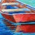 Boat Oil Painting on Canvas Fine Boat Art Boat on Water by Rebecca Beal