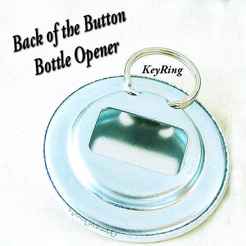 Star Trek TOS Scotty 2.25 inch Button Bottle Opener, Key Ring Mr Scott with his