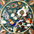 Marble Coffee Table top Pietra Dura Floral Pattern Peacock Inlay Marquetry Side