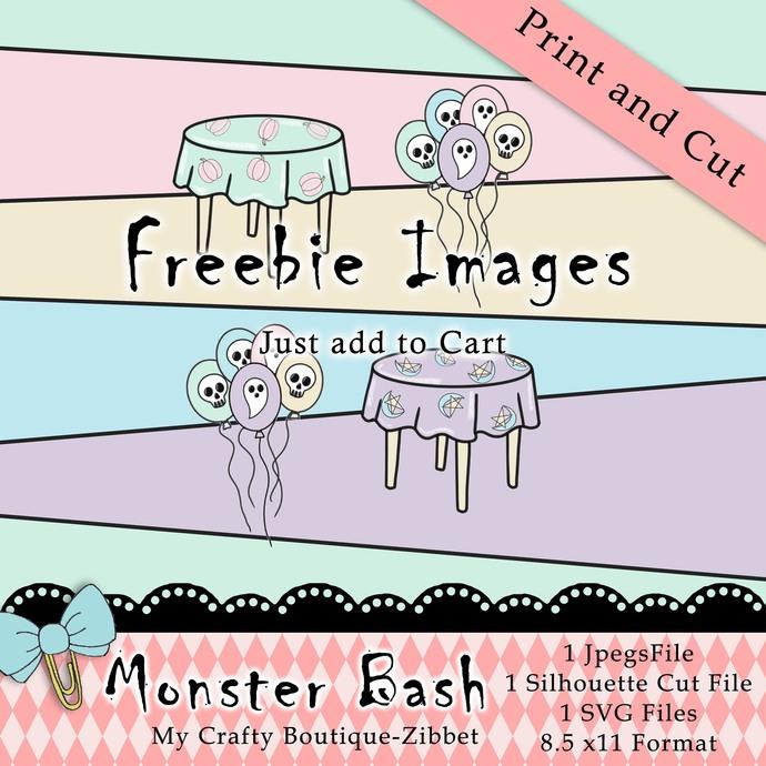 """Monster Bash Freebie"" Printable Download"