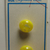 Card of Yellow Plastic Ball Buttons on original BGE Store Card