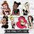7pcs, LAYERED, Punk Disney Princess svg, disney trip svg, punk princess svg,