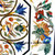 "Table 36"" X 36"" Inch Marble Inlay Multi Colour Foral Pietra Dura Marquetry"