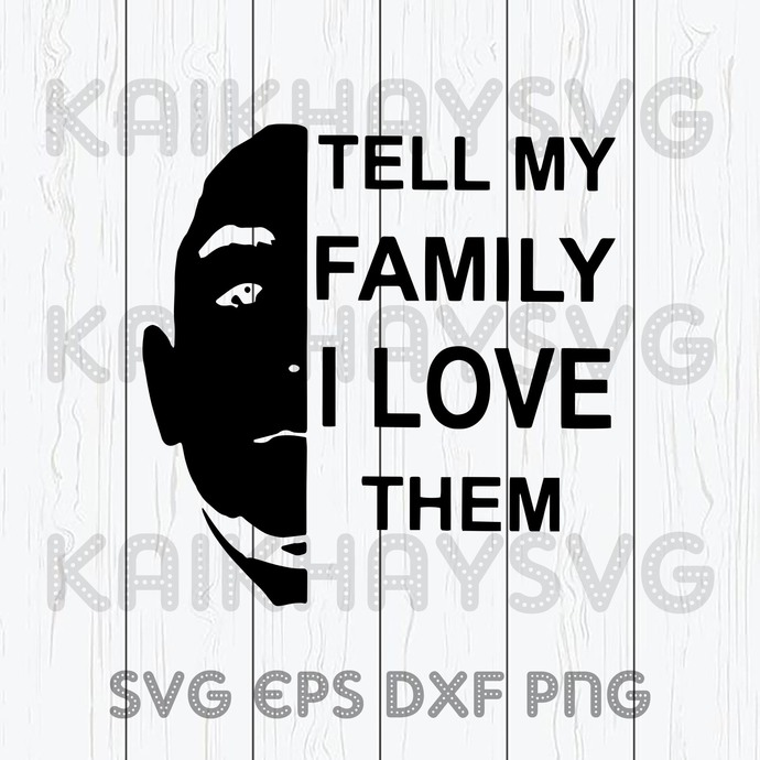 Free Aoc calls for 'full investigation' into nursing homes. Tell My Family I Love Them Svg Father S By Kaikhaystore On Zibbet SVG, PNG, EPS, DXF File
