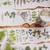 London Gifties original design - Dried Herbs - 4cm wide Japanese washi tape